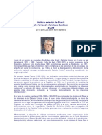 MONIZ BANDEIRA, Luiz Alberto - La política exterior de Brasil
