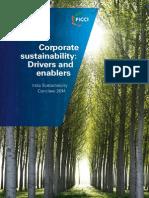FICCI Sustainability Conclave Report 2014 Feb13