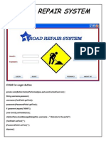 Road Repair System