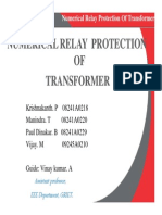 Numerical Relay Protection of Transformer_ppt