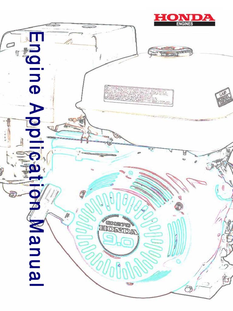 honda gxv 520 pdf