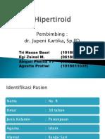laporan kasus hipertiroid