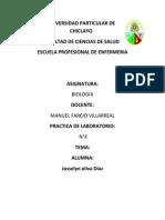 Universidad Particular de Chiclayo Biologia