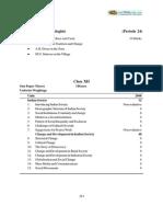 CBSE Class 12 Syllabus for Sociology 2012-2013