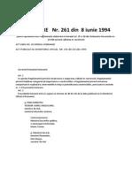 HG 261/1994