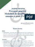 TAXARE INVERSA Consultanta Fiscala