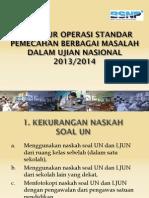 POS Penanganan Masalah UN
