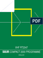 1 RT2047 Sailor Vhf User Manual
