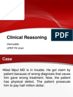 Kuliah Clinical Reasoning