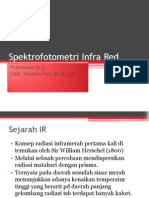 Spektrofotometri Infra Red