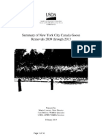 USDA NYC Roundups 2009-2014
