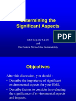 p 19 Significant Aspects