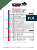 2014 UCI MTB World Cup Programme - PMAB
