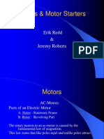 Motors and Motor Starters