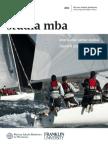 Informator 2014 - Program MBA - Wyższa Szkoła Bankowa we Wrocławiu