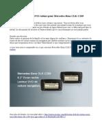 Navi Lecteur DVD Voiture Pour Mercedes-Benz CLK-C209