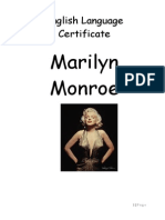 Atestat Marilyn Monroe