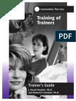 TOT TG Pre-Training Information