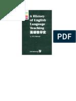 A.P.R. Howatt a History of English Language Teaching 1984