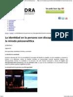 La identidad en la persona con discapacidad desde la mirada psicoanalítica _ ASDRA.pdf