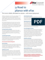 Take the Easy Road to HIPAA Compliance With eFax