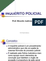 - CURSO DELEGADO - Inquérito e provas - PROF. ANDREUCCI