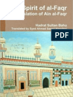 Spirit of Al-FaqrThe Spirit of al-Faqr