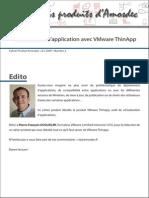 Cahier Produit 2 VMware Thinapp