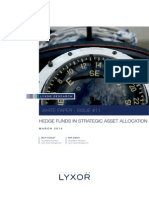 Hedge Funds in Strategic Asset Allocation Lyxor White Paper March 2014