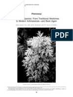 Artemisia Species_ From Traditional Medicines to Modern Antimalarials—and Back Again