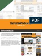 ConstructionWeekOnlineCom Media Pack