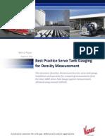 ServoDensityMeasurements White Paper 0809