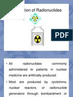 Topic 2-Production of Radionuclides & QA QC