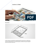 El Origen de La Tablet