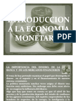 Introduccion a La Economia Monetaria
