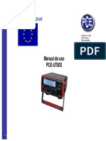 Manual Pce Ut803
