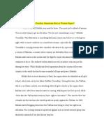 Peer Reviewer- Jennifer Mclaughlin