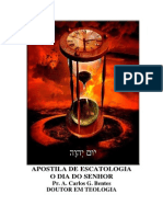 ESCATOLOGIA APOSTILA
