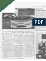 Der Coup von Opel-Pilot Reuter passt ins ITC-Konzept