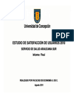 Informe ESU 2010