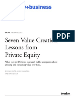 00102 Value Creation Private Equity