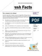 Fresh Facts - April 2014