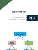 L 7Estimating Risk