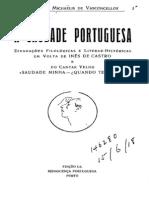 A saudade Portuguesa