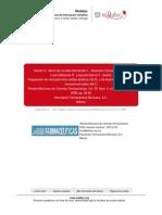 Preparation of Solid Lipid Nanoparticles (SLN) y Acarreadores Lipidicos Nanoestructurados