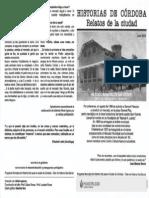 Mercado de San Vicente. Entrevista 2005 Creado en 1889