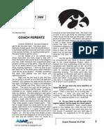 Coach Ferentz 10 27 09
