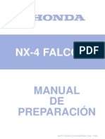 Honda NX4 Falcon 2000 a 2002 Manual de Reparacion