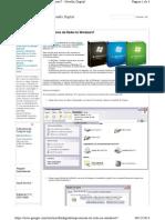 Compatilhamento Impressora XP e 7