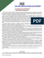 Daireaux Godofredo-Los Dioses de La Pampa